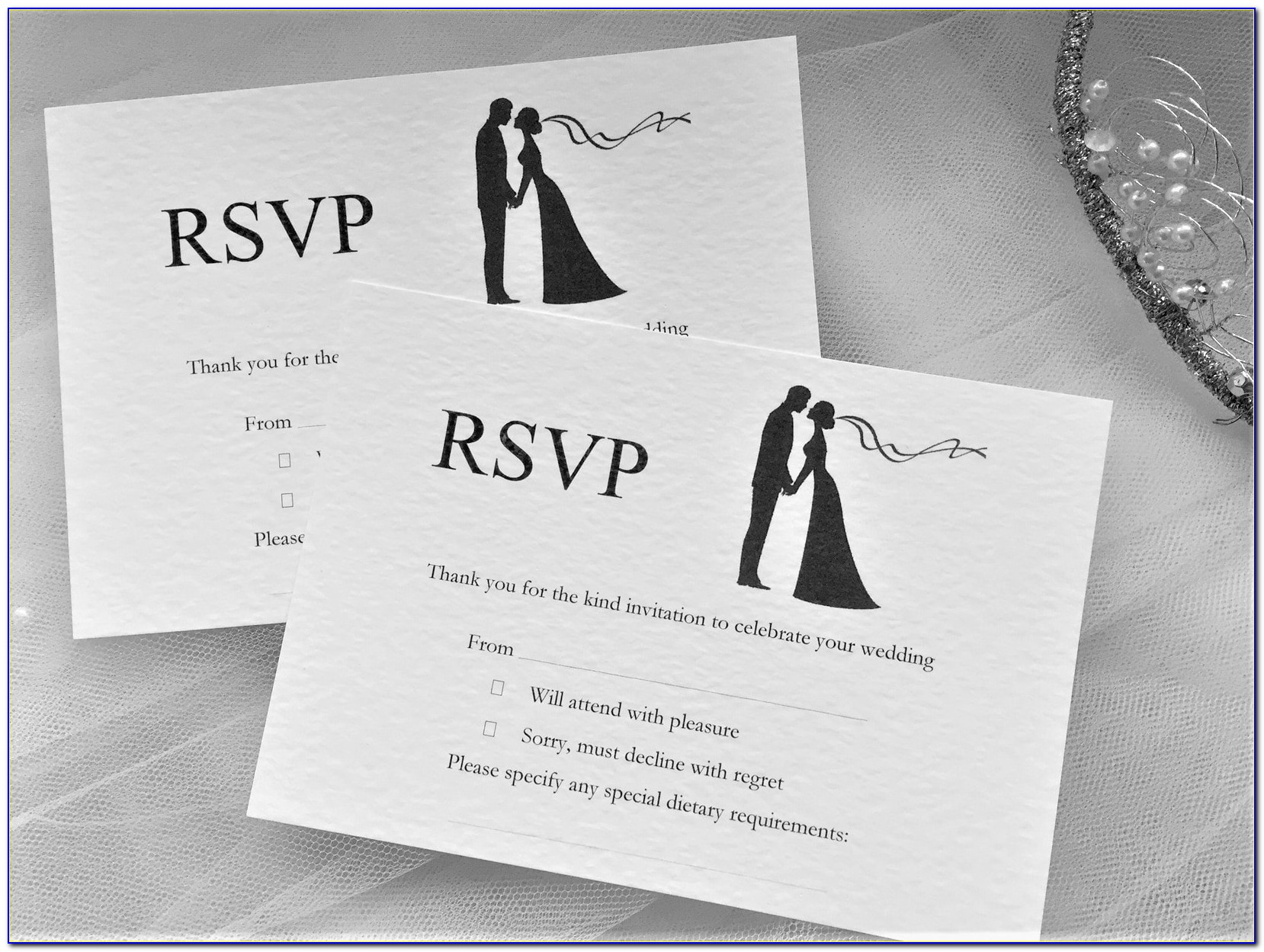 Rsvp Cards For Wedding Invitations