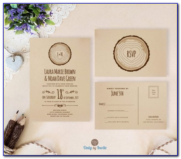 Rsvp Cards For Wedding Website