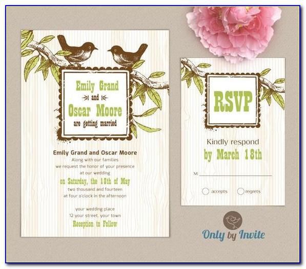 Rsvp Cards For Wedding Wording