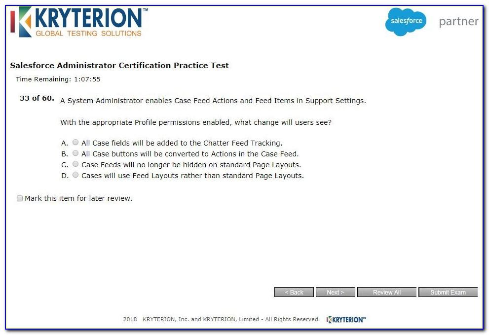 Salesforce Certification Exam Cost