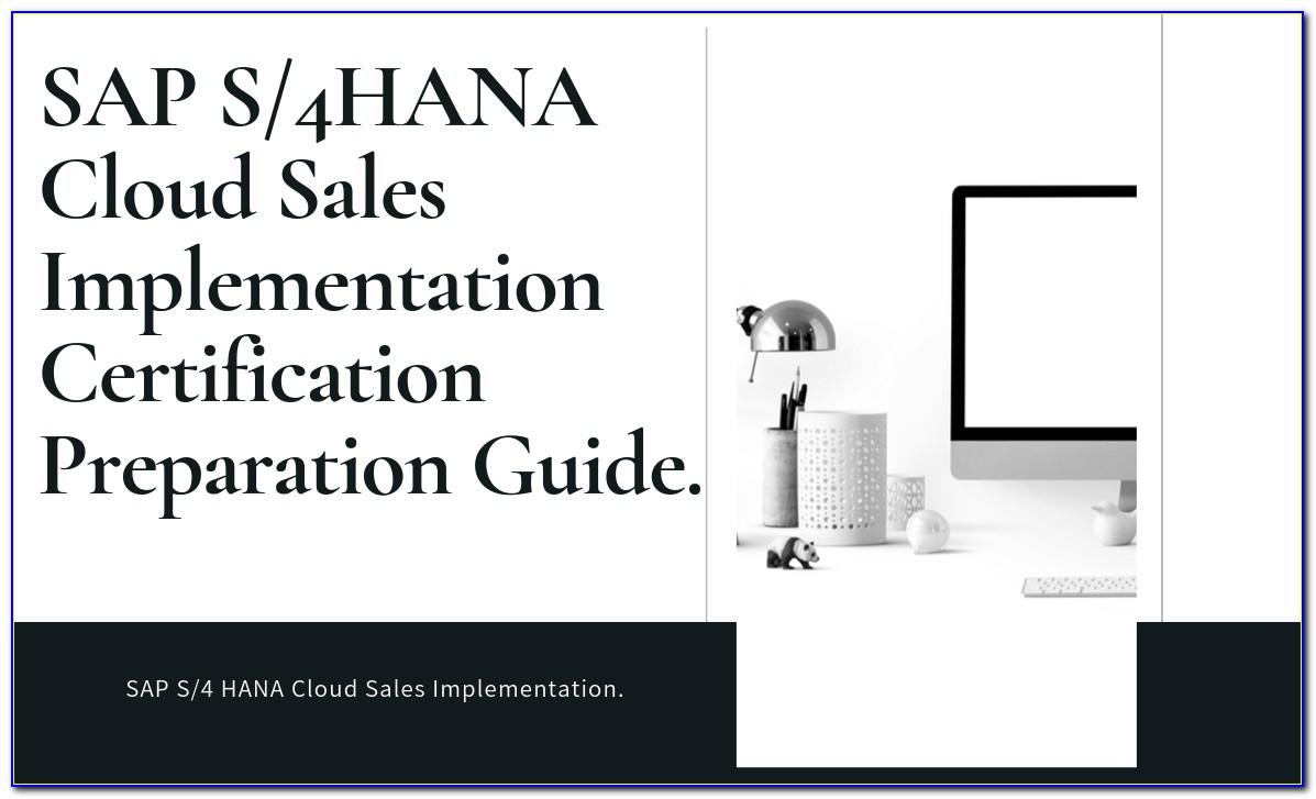 Sap Hana Certification Cost In India