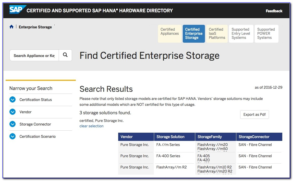 Sap Hana Certification Cost