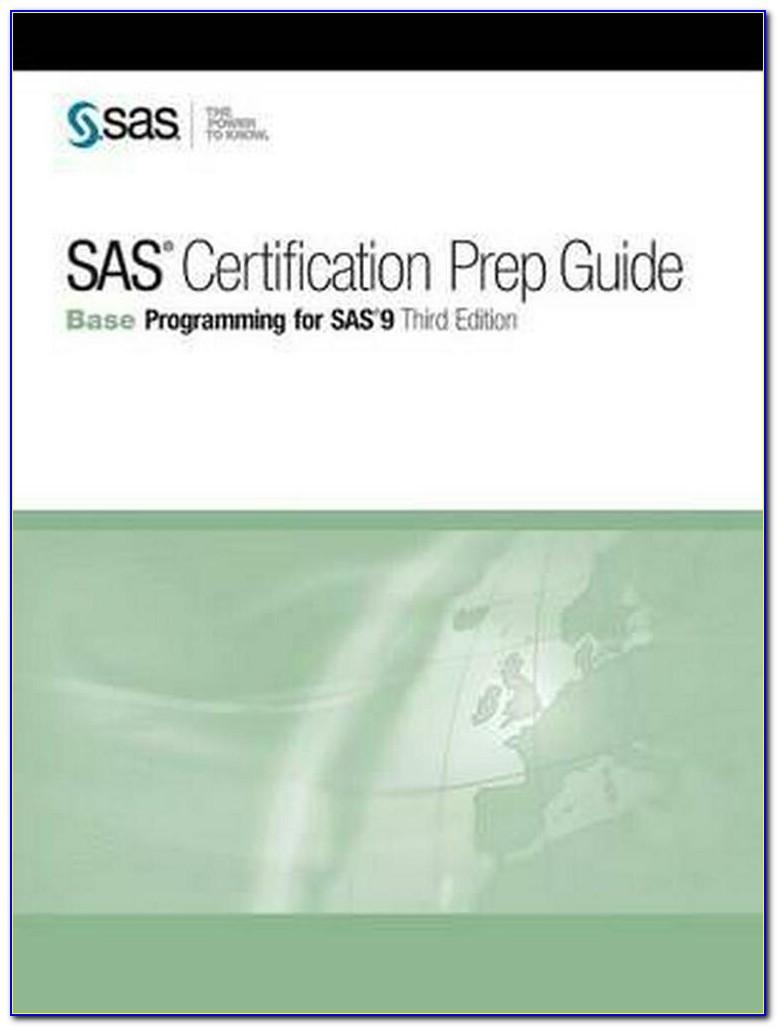 Sas Certification Prep Guide Base Programming For Sas 9