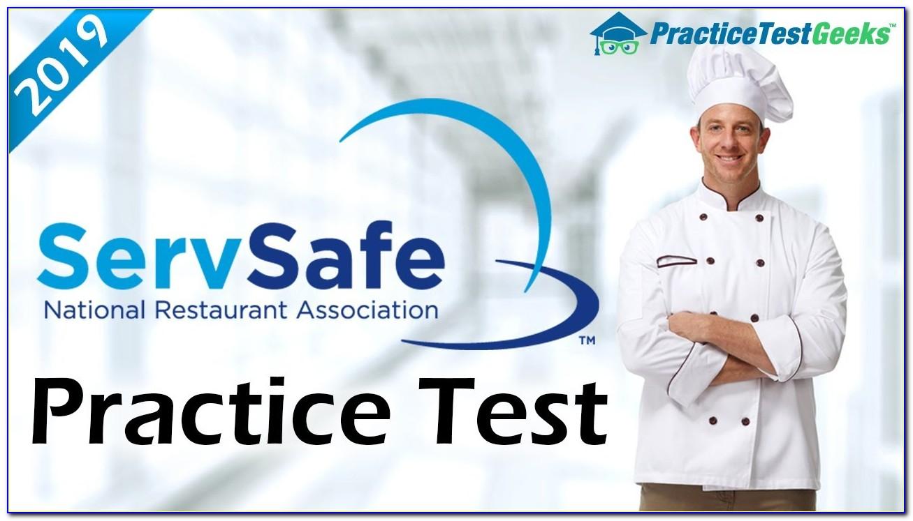 Servsafe Manager Certification Test Online
