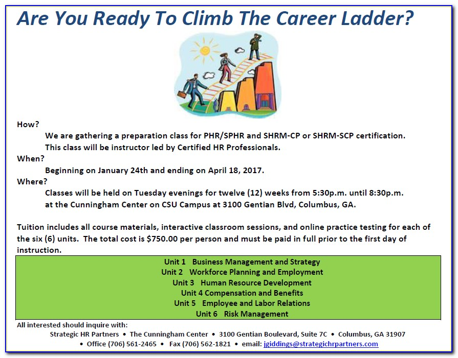 Shrm Certification Classes Cost