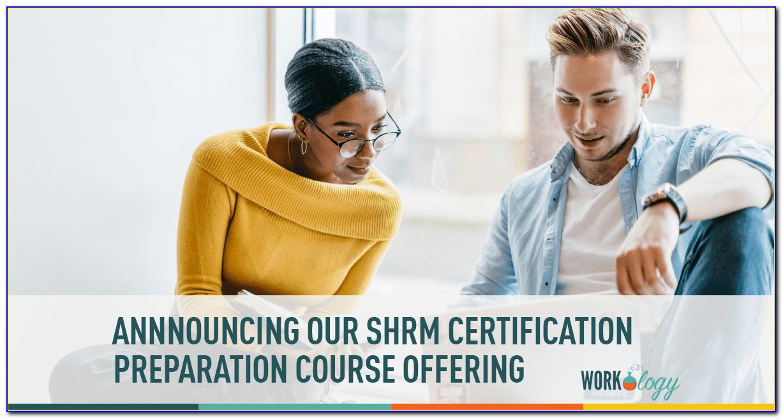 Shrm Certification Classes Nj
