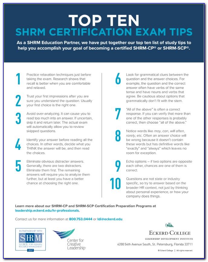 Shrm Certification Classes Online