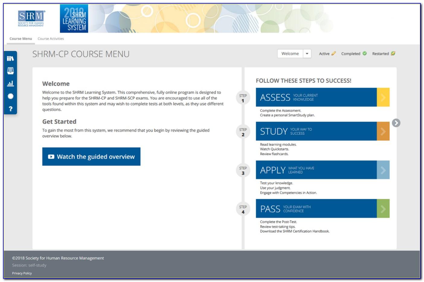 Shrm Certification Portal