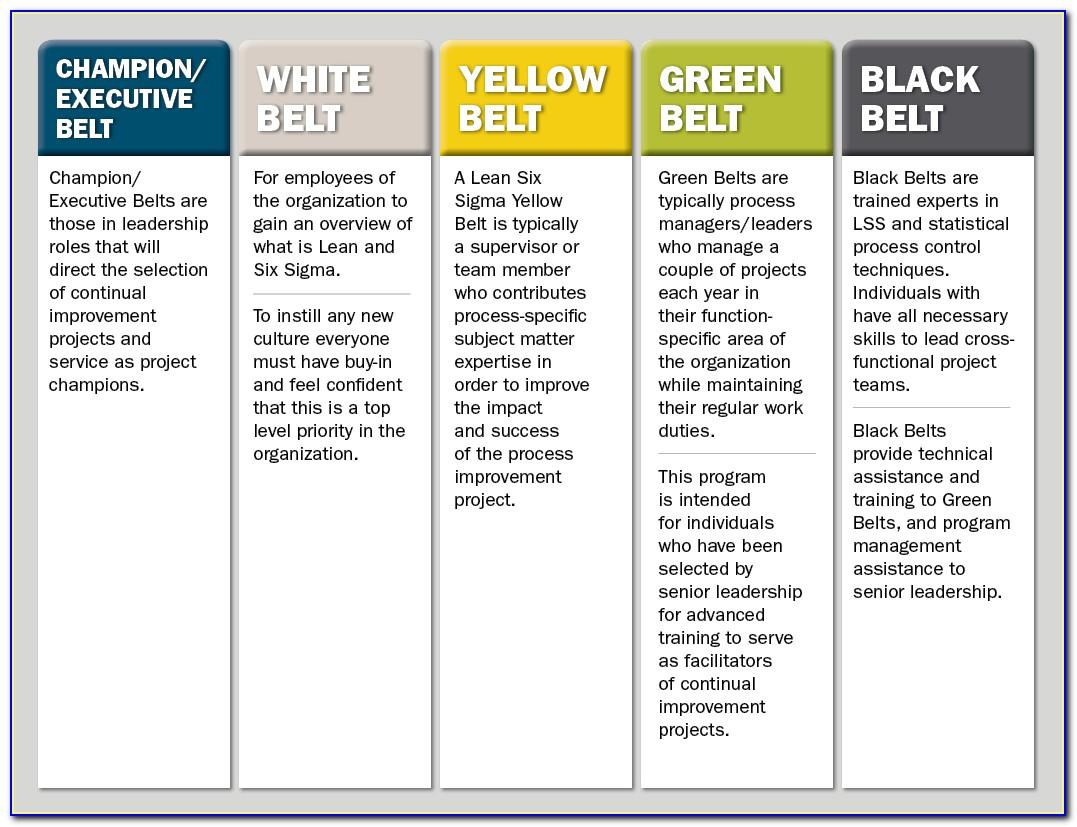 Six Sigma White Belt Certification Exam