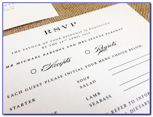 Size Of Invitation Card For Wedding