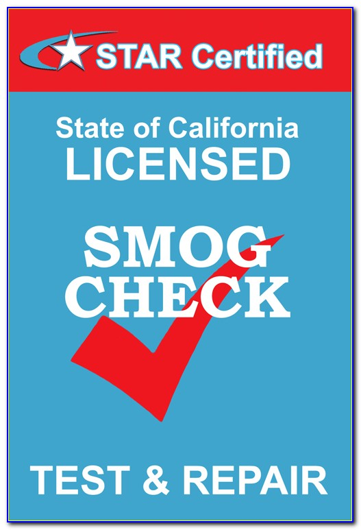 Smog Certification Star Stations