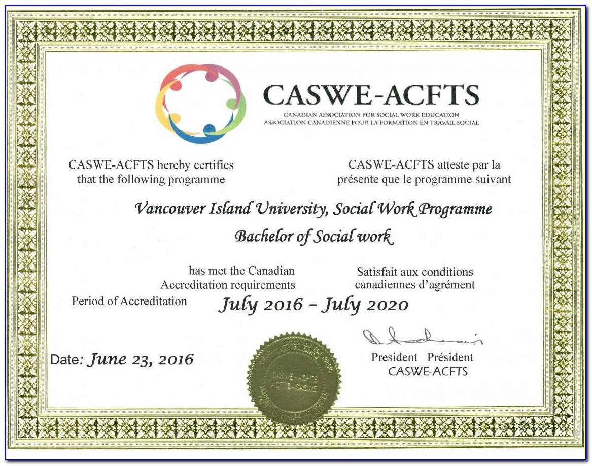 Social Work Certificate Online Canada