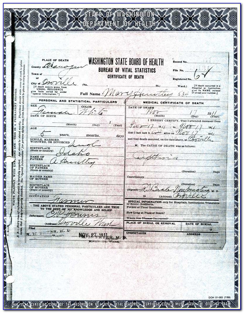 Sonoma County Ca Birth Certificate