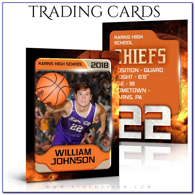 Sports Card Template Word
