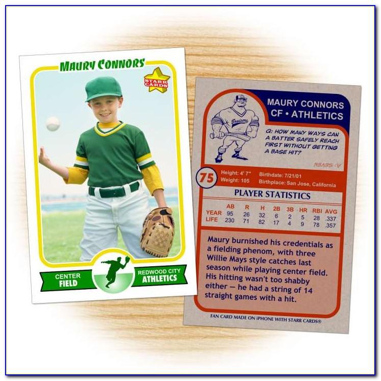 Sports Trading Card Creator