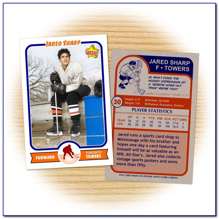 Sports Trading Card Maker