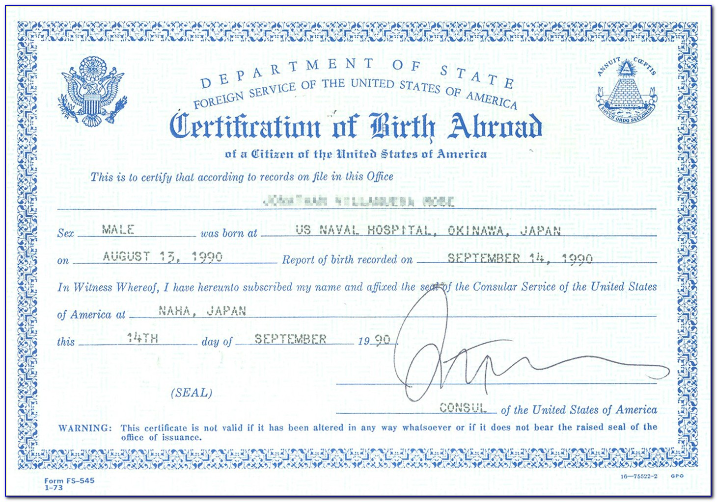 State Of Iowa Birth Certificate Replacement
