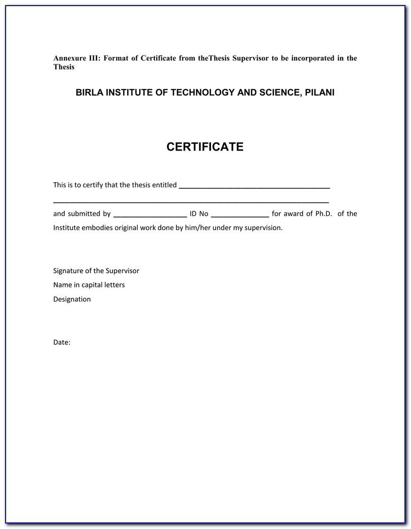 State Of Nj Supervisor Certificate