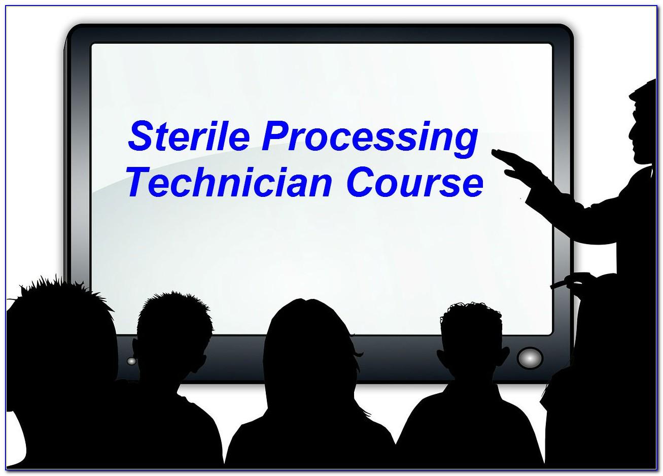 Sterile Processing Technician Certification Exam