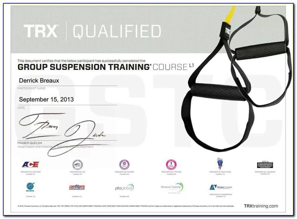 Suspension Training Certification Online