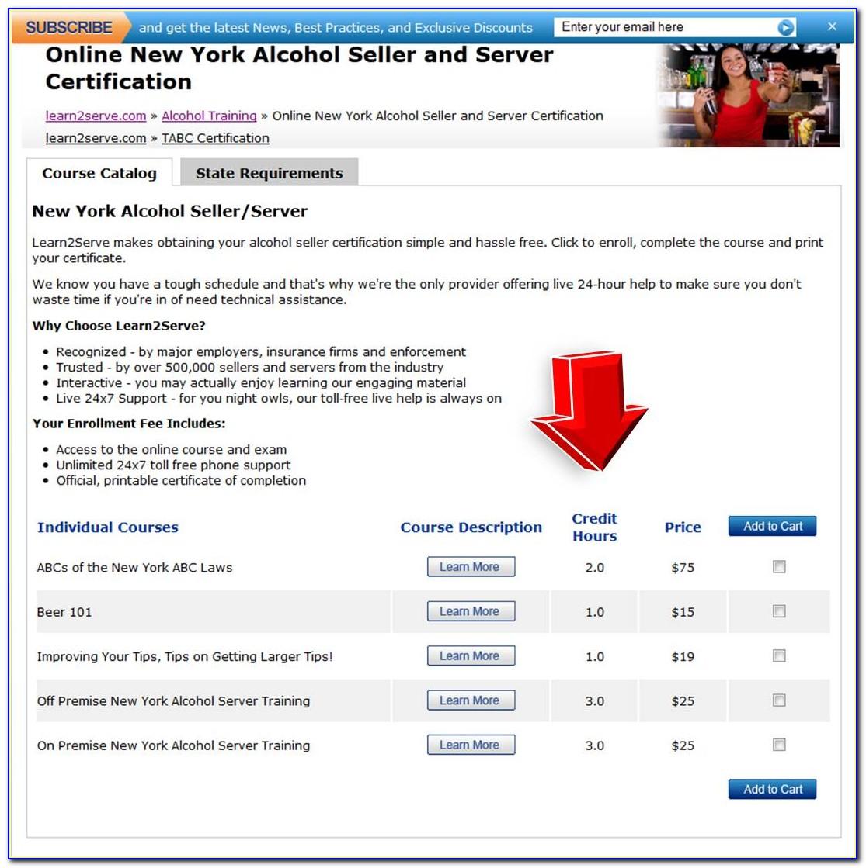 Tabc Certification Online Lookup