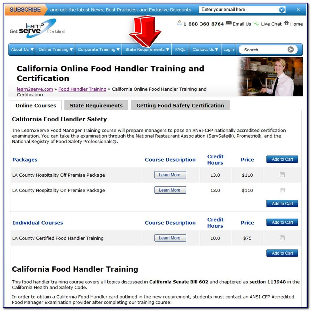 Tabc Food Handlers Certification Austin Texas