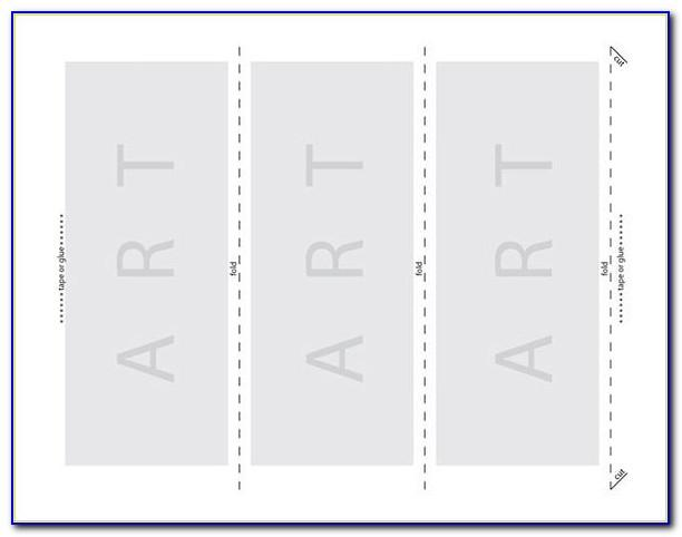 Table Card Template Publisher