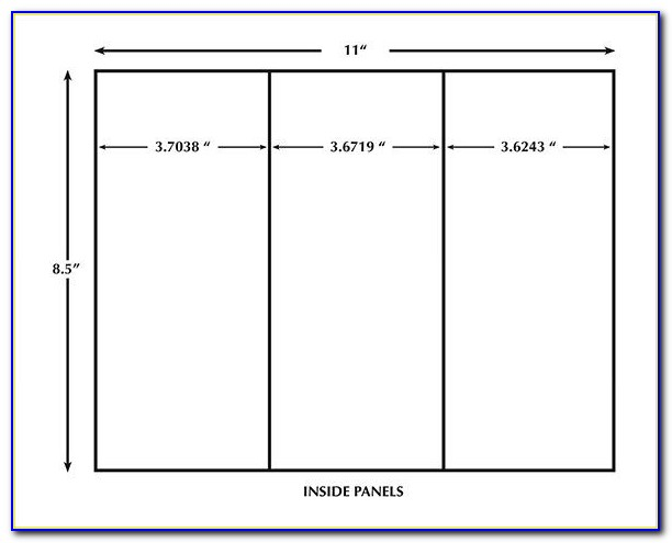 Table Tent Card Template Indesign