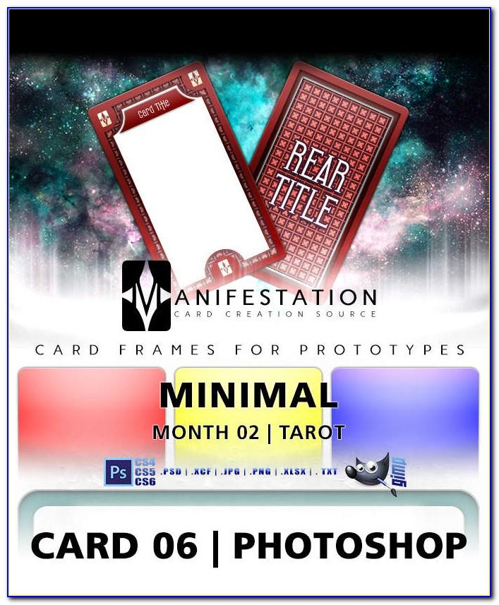 Tarot Card Template Download