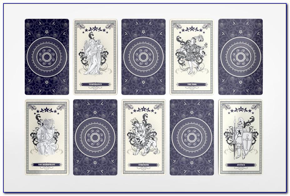 Tarot Card Template Pdf