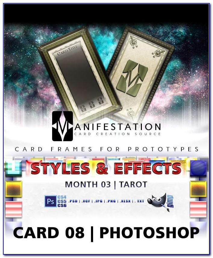 Tarot Card Template Size
