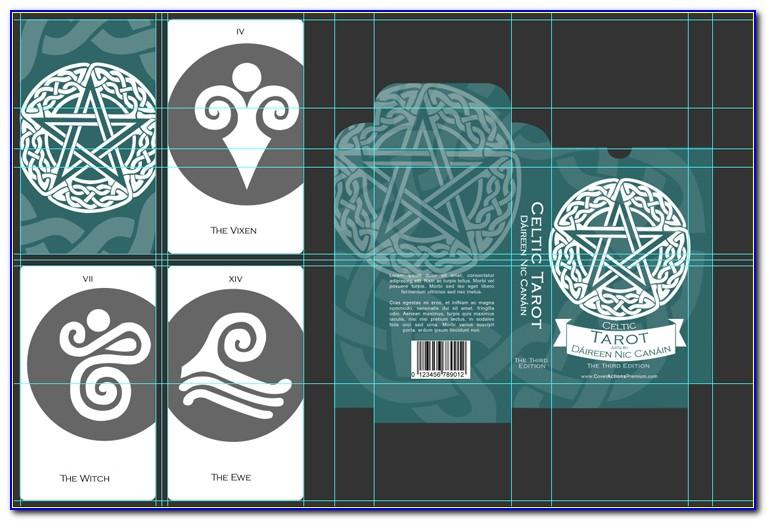 Tarot Card Template Word