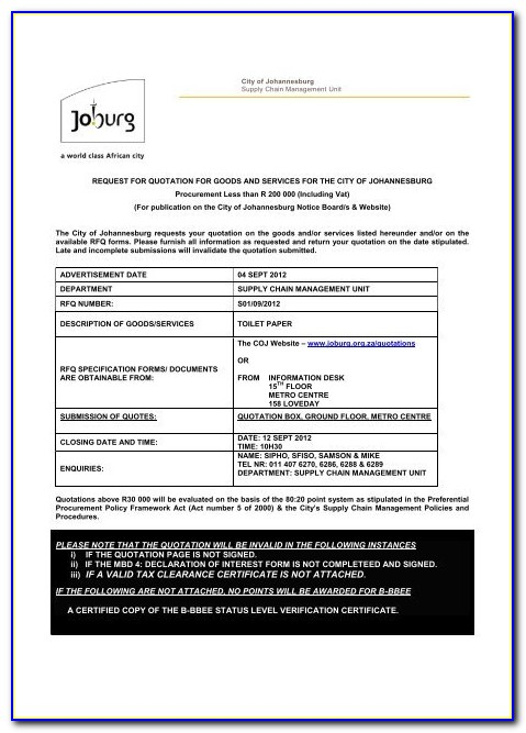 Tax Clearance Certificate Paper