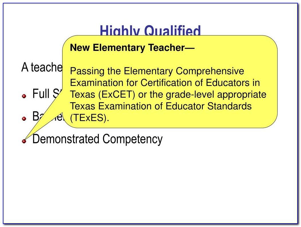 Texas Paraprofessional Certificate Renewal