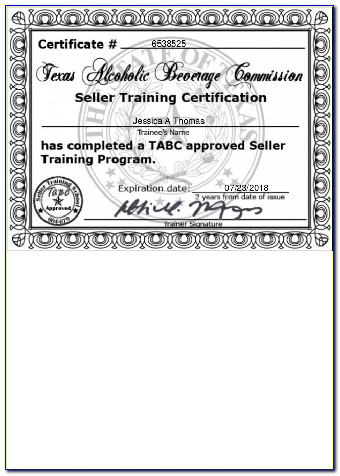 Texas Tabc Certification Lookup