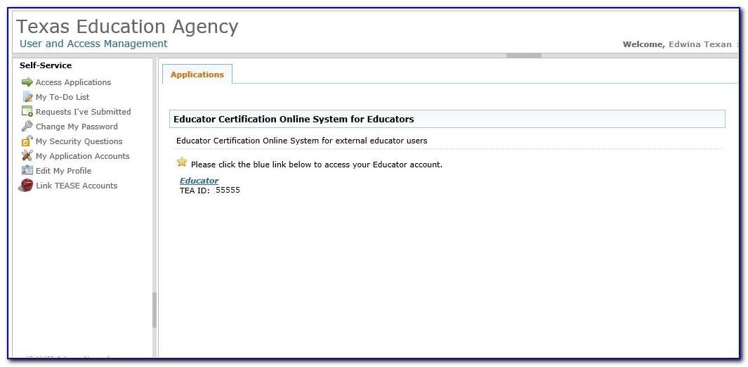 Texas Teacher Certification Lookup Sbec