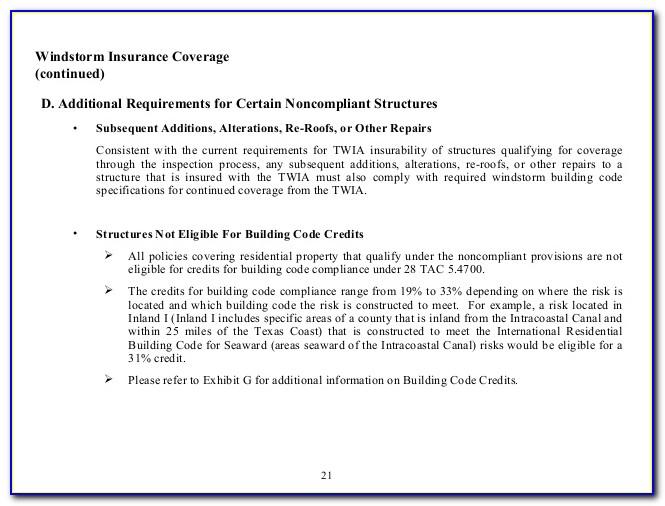 Texas Windstorm Insurance Certificate Search