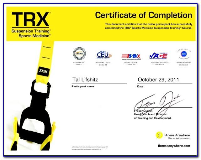 Trx Trainer Certification
