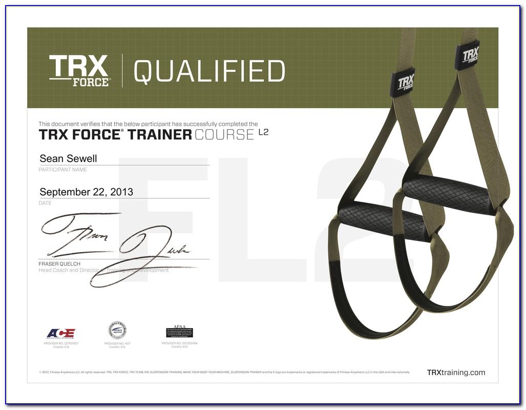 Trx Training Certification Canada