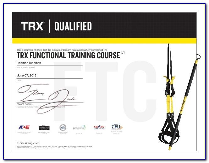 Trx Training Certification India