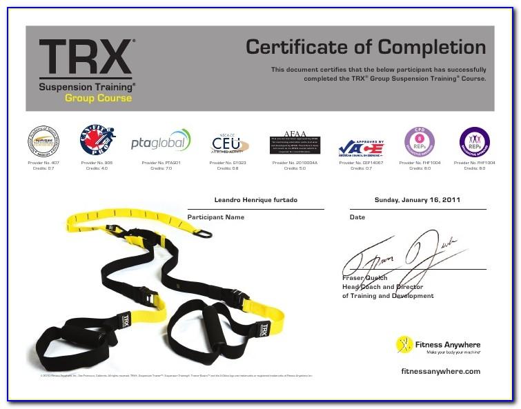 Trx Training Certification Online