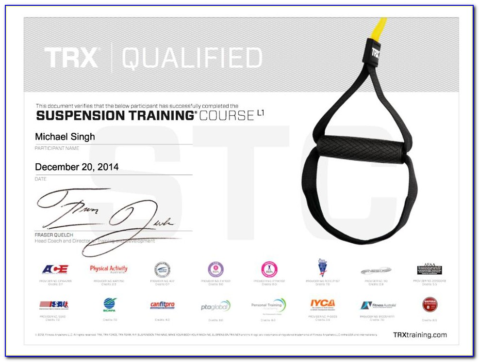 Trx Training Certification Uk
