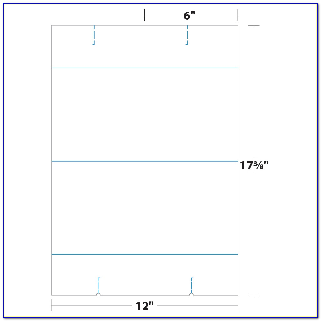 Two Sided Tent Card Template Word