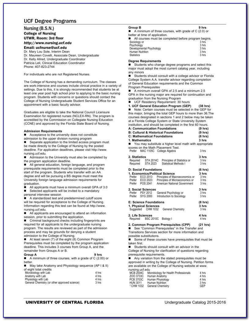 Ucf Certificate Programs Online