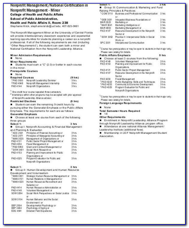 Ucf Psychology Certificate Programs