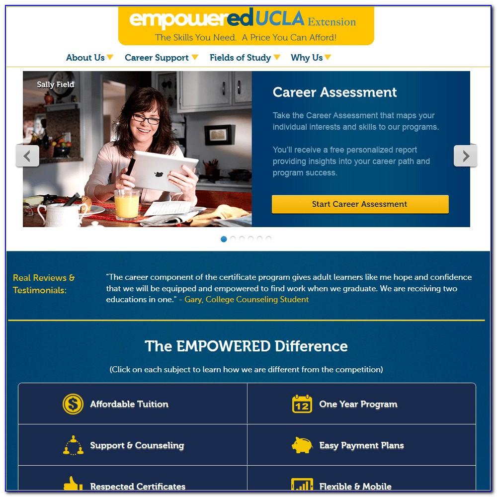Ucla Certificate Programs Fee