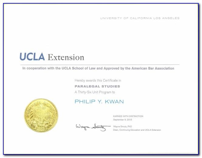 Ucla Certificate Programs Online
