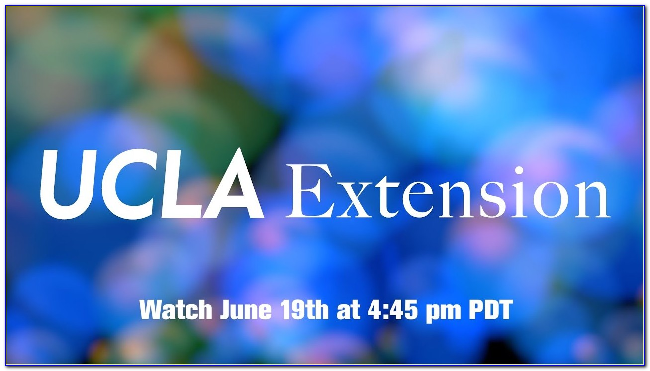 Ucla Extension Certificate Cost
