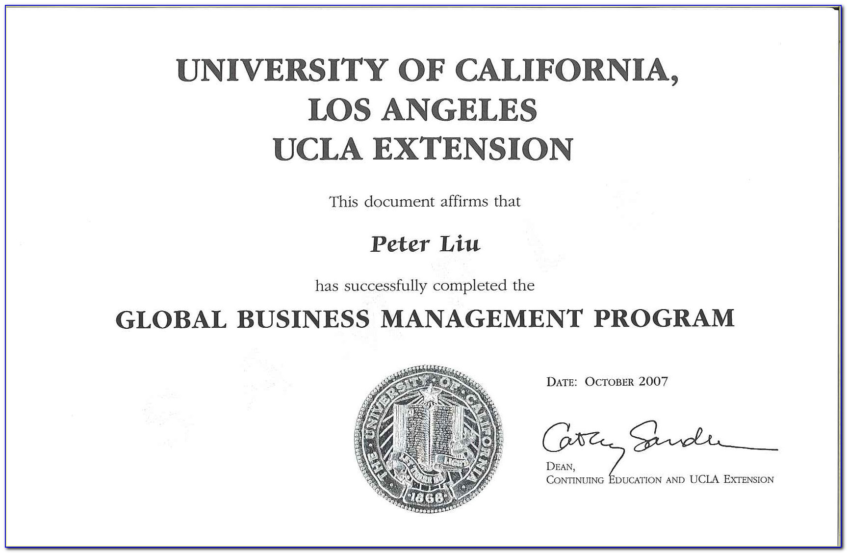 Ucla Extension Certificate In Accounting