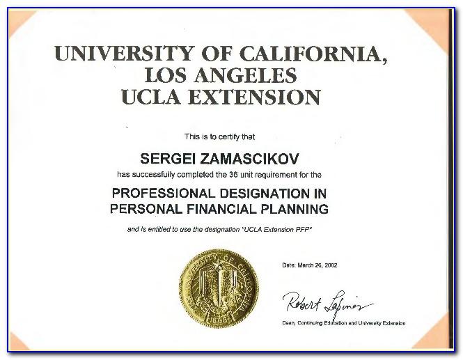 Ucla Extension Certificate Program